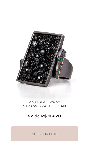 ANEL GALUCHAT STRASS GRAFITE JOAN